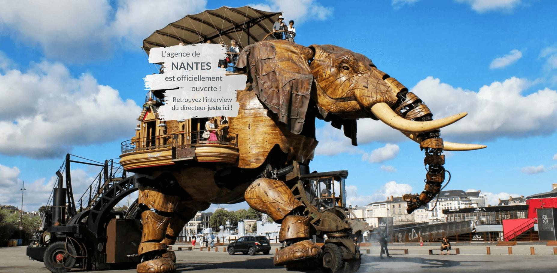 L'agence de Nantes est ouverte