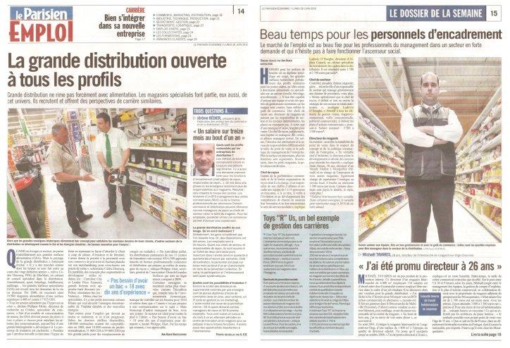 Dossier emploi Alphéa Conseil - La Parisien