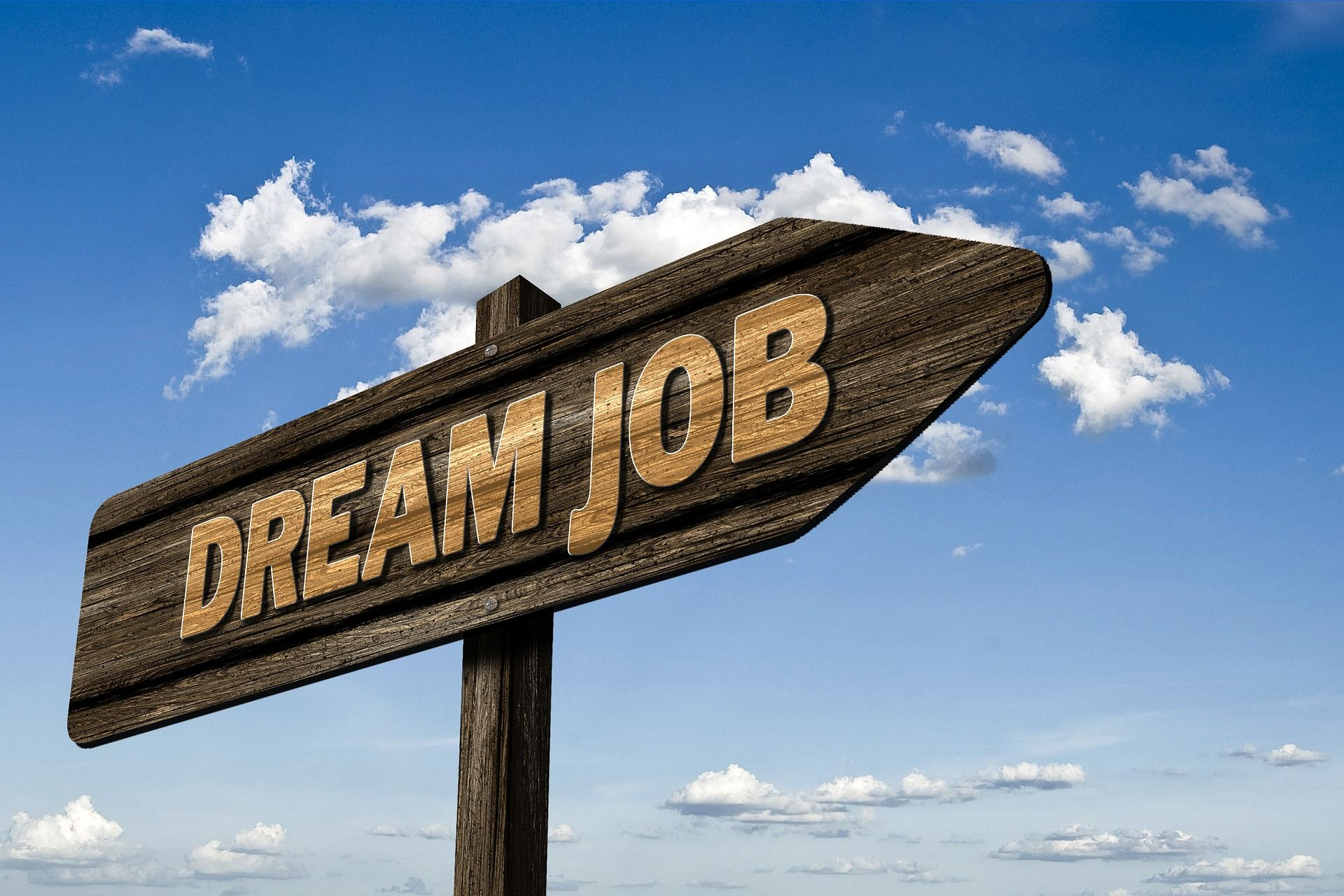 6 raisons de vous faire coacher panneau dream job