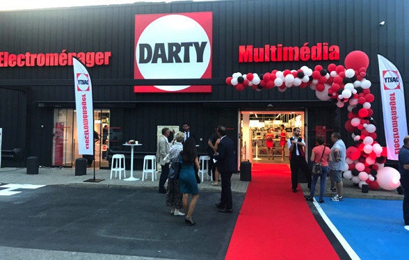 Inauguration du magasin Darty St E?gre?ve