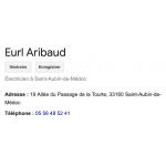 EURL ARIBAUD